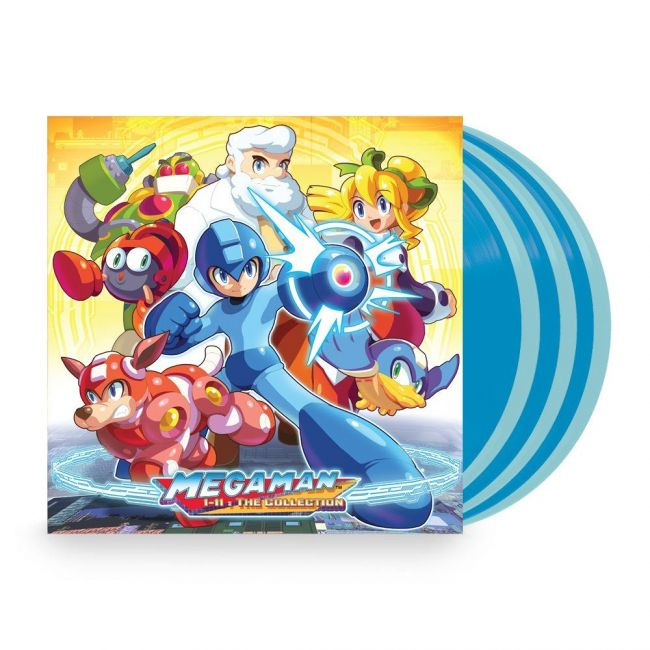 The Megaman series gets music released on vinyl
