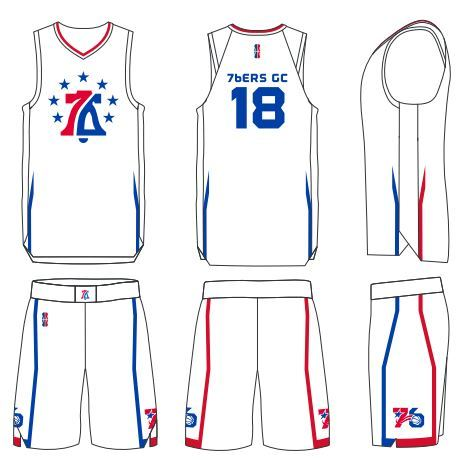 e1f55bec915b Pictures of 76ers Gaming Club reveal digital court and uniforms 3 3