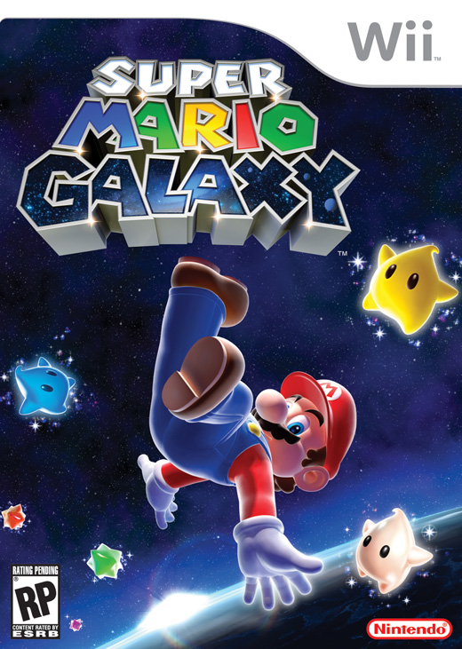 super mario galaxy 2007