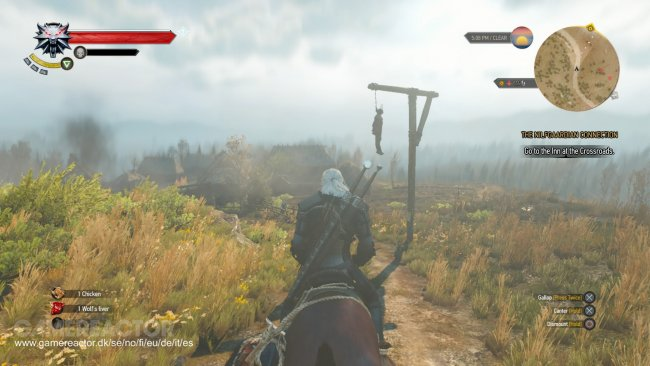 how to stop werewolf from healing witcher 3