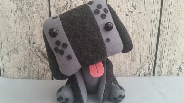 Fan creates Nintendo Switch as a lovely plushie