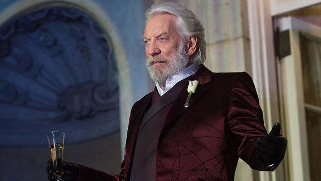Coriolanus Snow is the focus of the new Hunger Games novel