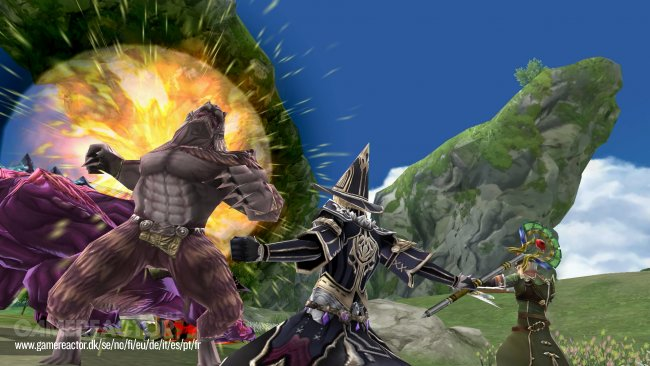 Here's the first screens from Final Fantasy Explorers-Force