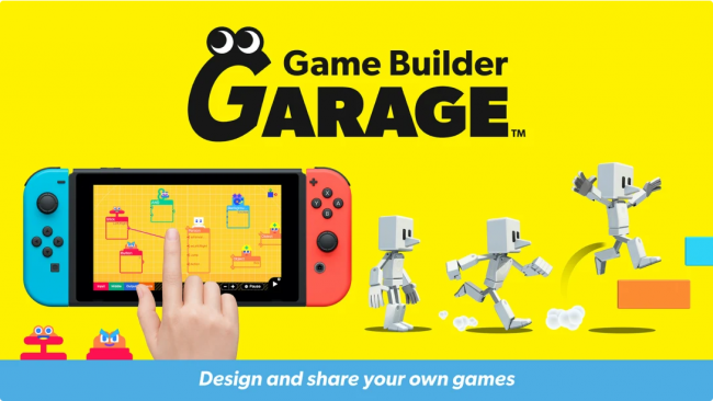 Nintendo reveals Roblox competitor called Game Builder Garage
