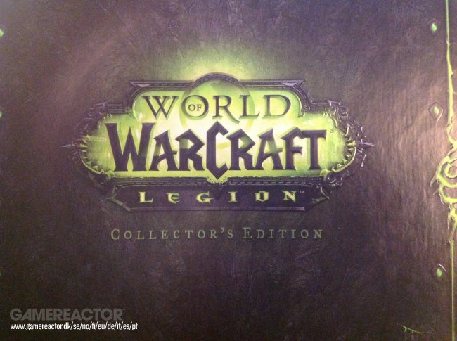 Unboxing of World of Warcraft: Legion Collector's Edition