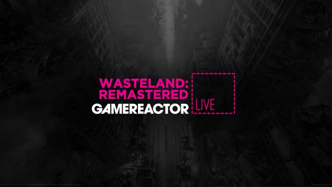 We're playing Wasteland Remastered on today's live stream