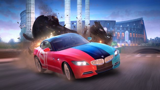 Asphalt 9 hits a million downloads in a week on Switch