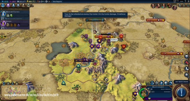 A couple hours worth of Civ VI gameplay