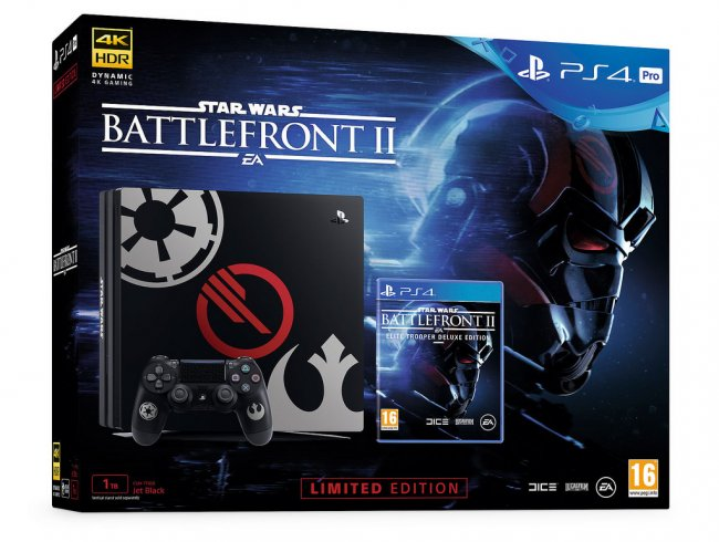 Limited Edition Star Wars Battlefront II PS4 bundles revealed