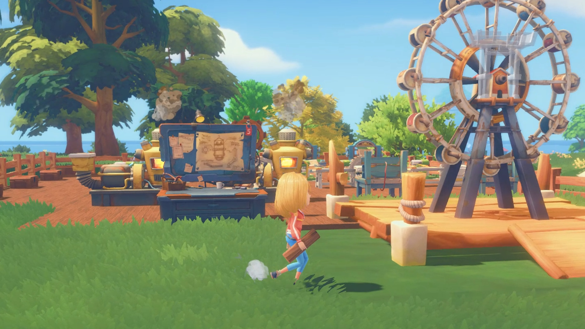 My Time At Portia heading to consoles in April