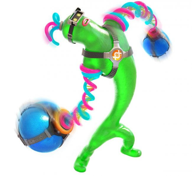 A new Arms character has been unveiled