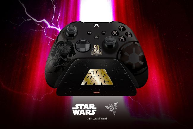 Razer announces Darth Vader controller and Charging Stand for Xbox