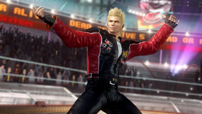 Virtua Fighter's Jacky joins Dead or Alive