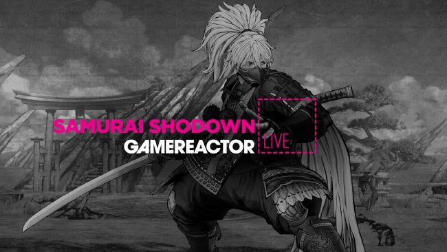 Today on GR Live we're playing Samurai Shodown