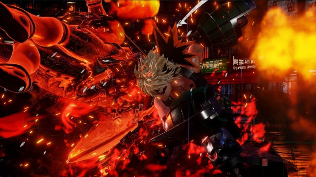 Bakugo is coming to Jump Force