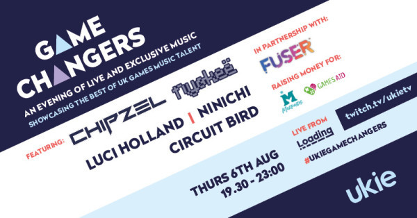 Celebrate UK game music tonight with Game Changers