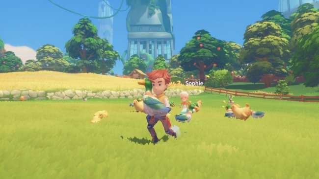 Discover the crafting elements in My Time At Portia