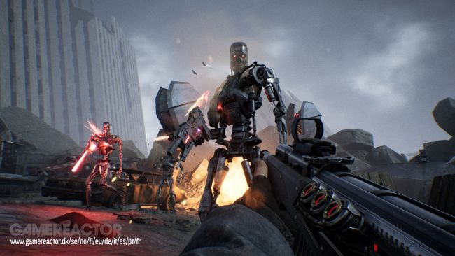 Terminator: Resistance - Enhanced file size is smaller on PS5 compared to PS4