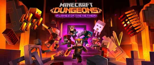 Minecraft Dungeons now has full Xbox Series S/X support