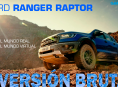 We drove the new Ford Ranger Raptor in Forza and in real life