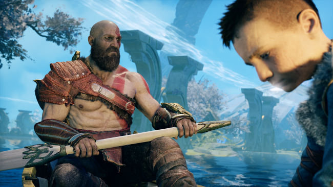 Even Atreus declares that God of War is out