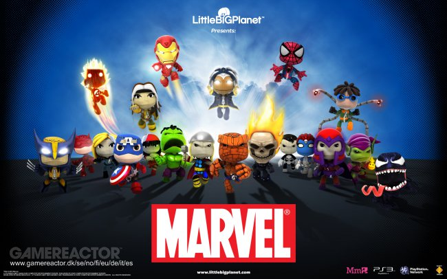 Marvel content exits Little Big Planet 3 on December 31