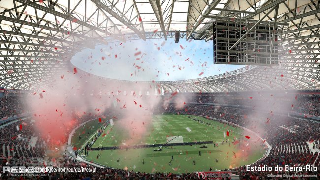 PES 2017 signs 20 Brazilian teams, 6 stadiums