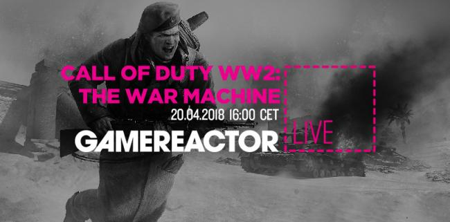 Today on GR Live we're playing CoD: WWII's War Machine DLC