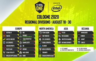 All teams invited to ESL One Cologne have been revealed