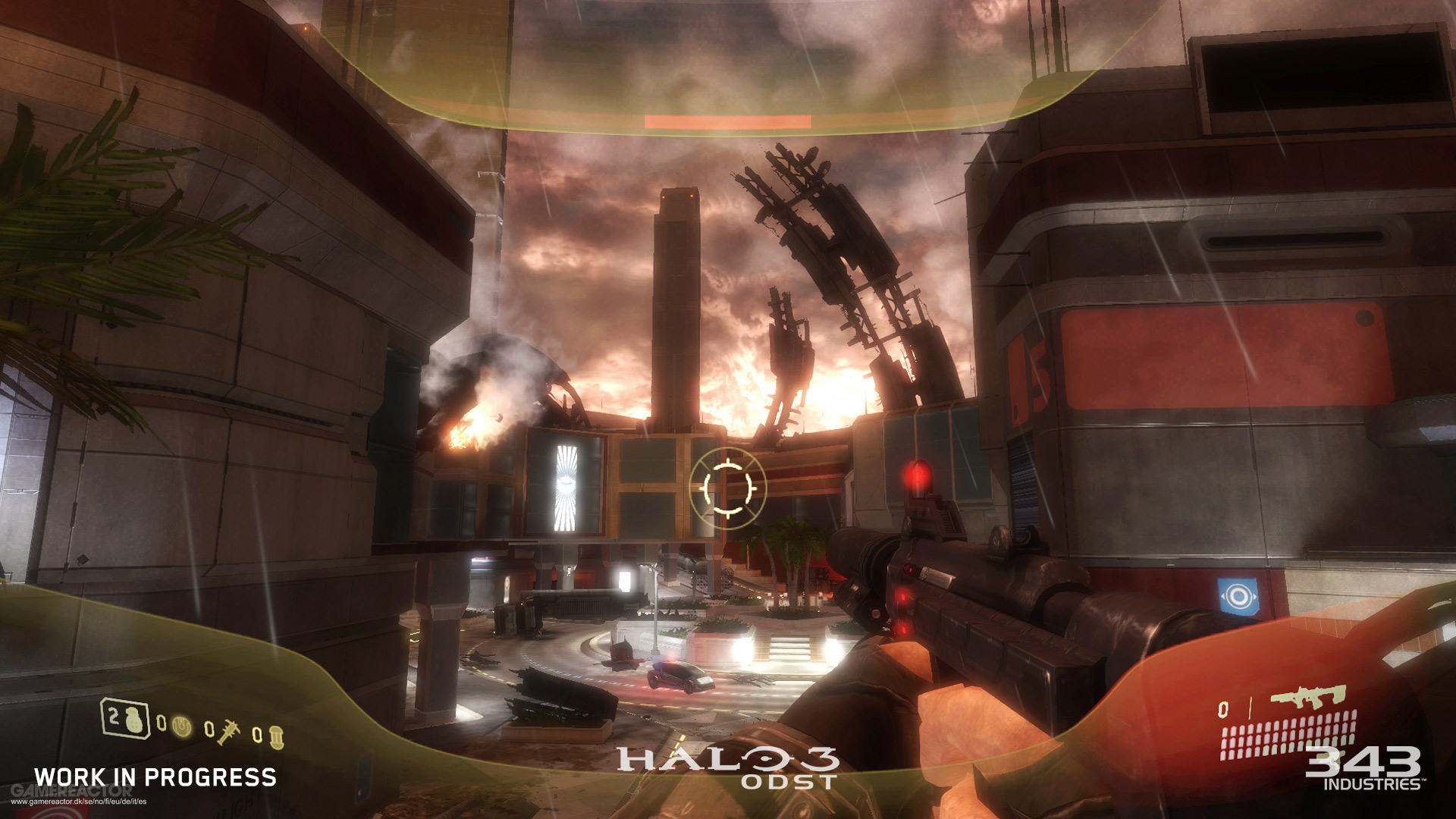 Pictures of First screenshot from the remastered Halo 3: ODST 1/2