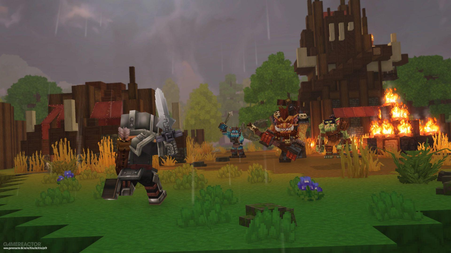 Pictures of Minecraft-inspired Hytale unveiled by Hypixel 6/11