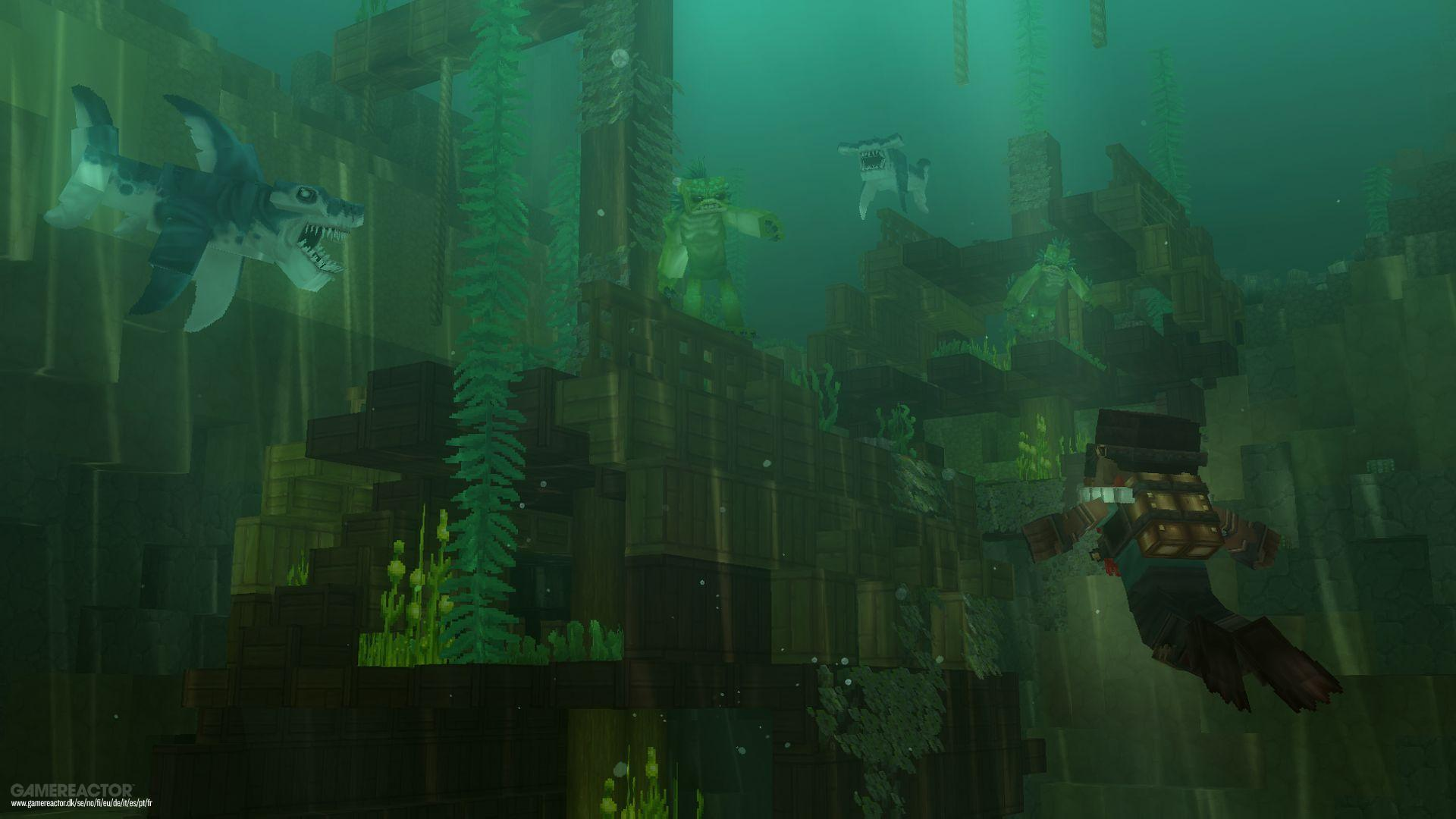 Pictures of Minecraft-inspired Hytale unveiled by Hypixel 11/11
