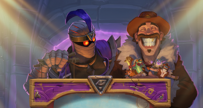 Watch us defeat two bosses on Hearthstone: Galakrond's Awakening