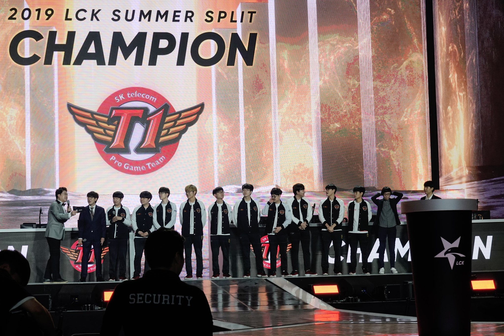 SKT are the LCK champions of Korea this summer - League of