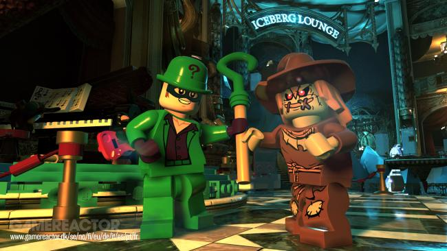 We play a couple of hours of Lego DC Super-Villains