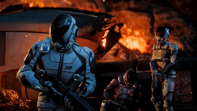 Check out the combat in Mass Effect: Andromeda