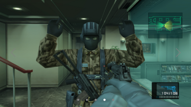 Metal Gear Solid 2 HD remake coming to Nvidia Shield