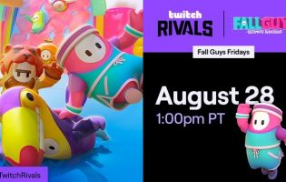 Fall Guys Twitch Rivals series set to debut August 28