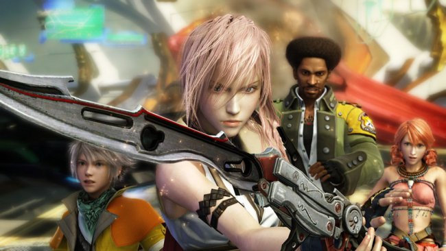 Improved cutscenes in Final Fantasy XIII on Xbox One X