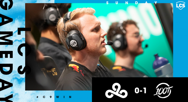 100 Thieves shatter Cloud 9's NA LCS winning streak