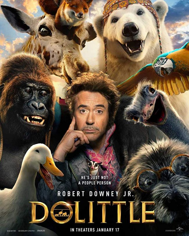 Dolittle's official trailer shows Robert Downey Jr. in the role