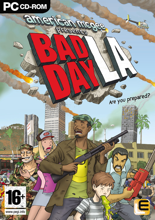 American mcgee presents bad day la (pc)