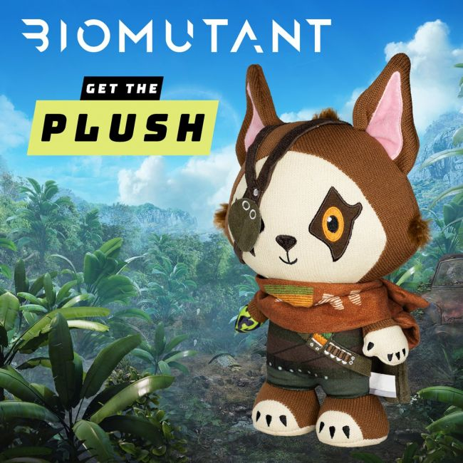 Biomutant Hero Plush launched at official store