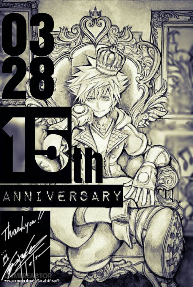 Kingdom Hearts celebrates its 15th anniversary in Japan