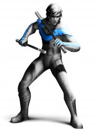 Nightwing comes to Arkham City