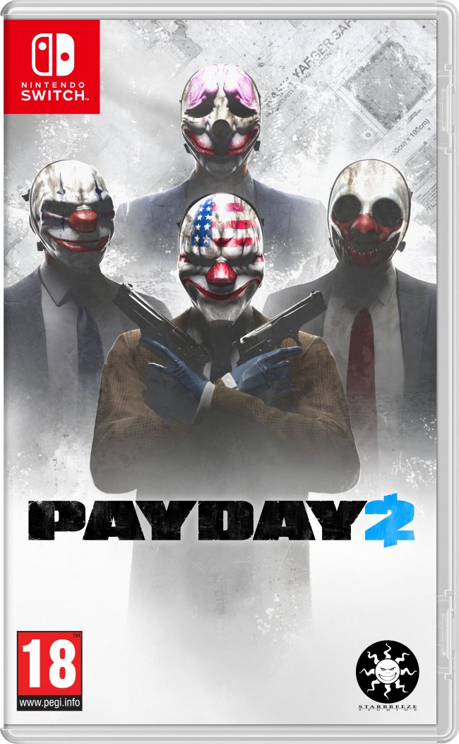 Payday 2 for Nintendo Switch gets a release date