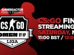 Tune into the finals of our CS:GO league today