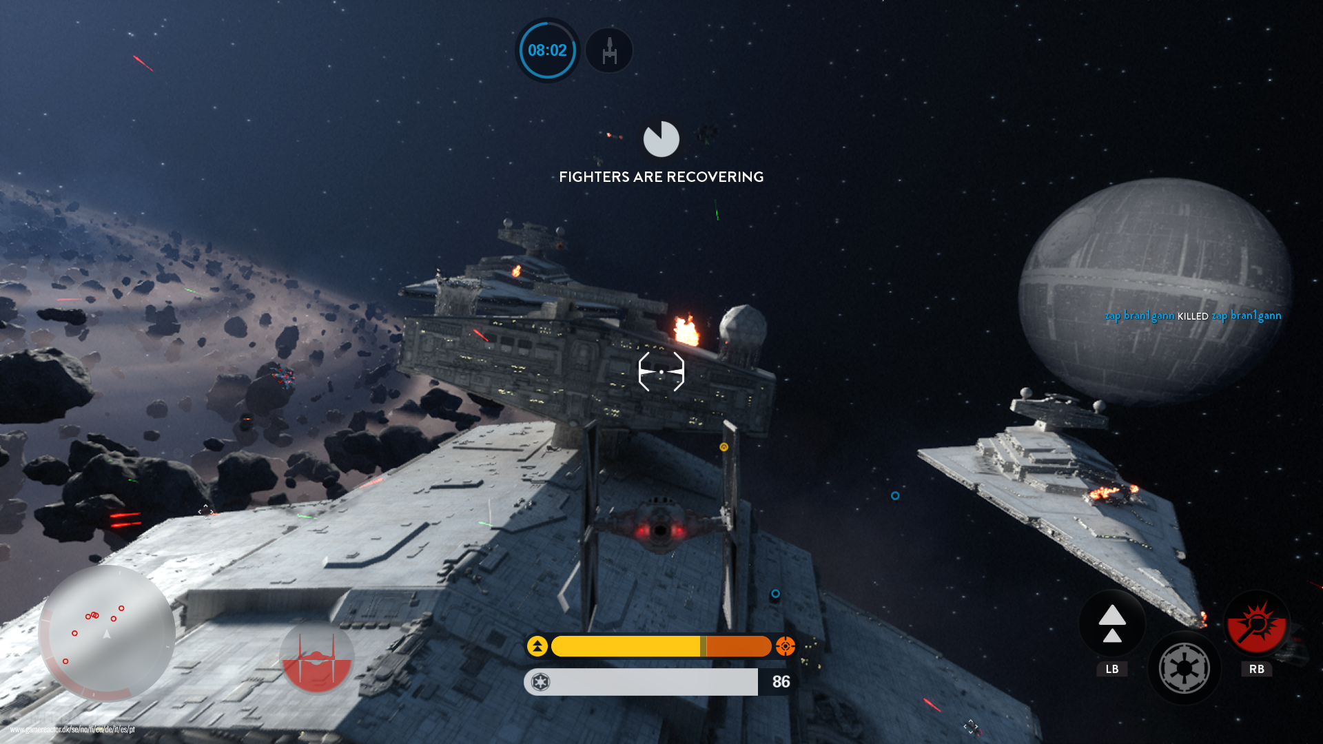 Pictures Of Star Wars Battlefront Death Star Gameplay 6 9