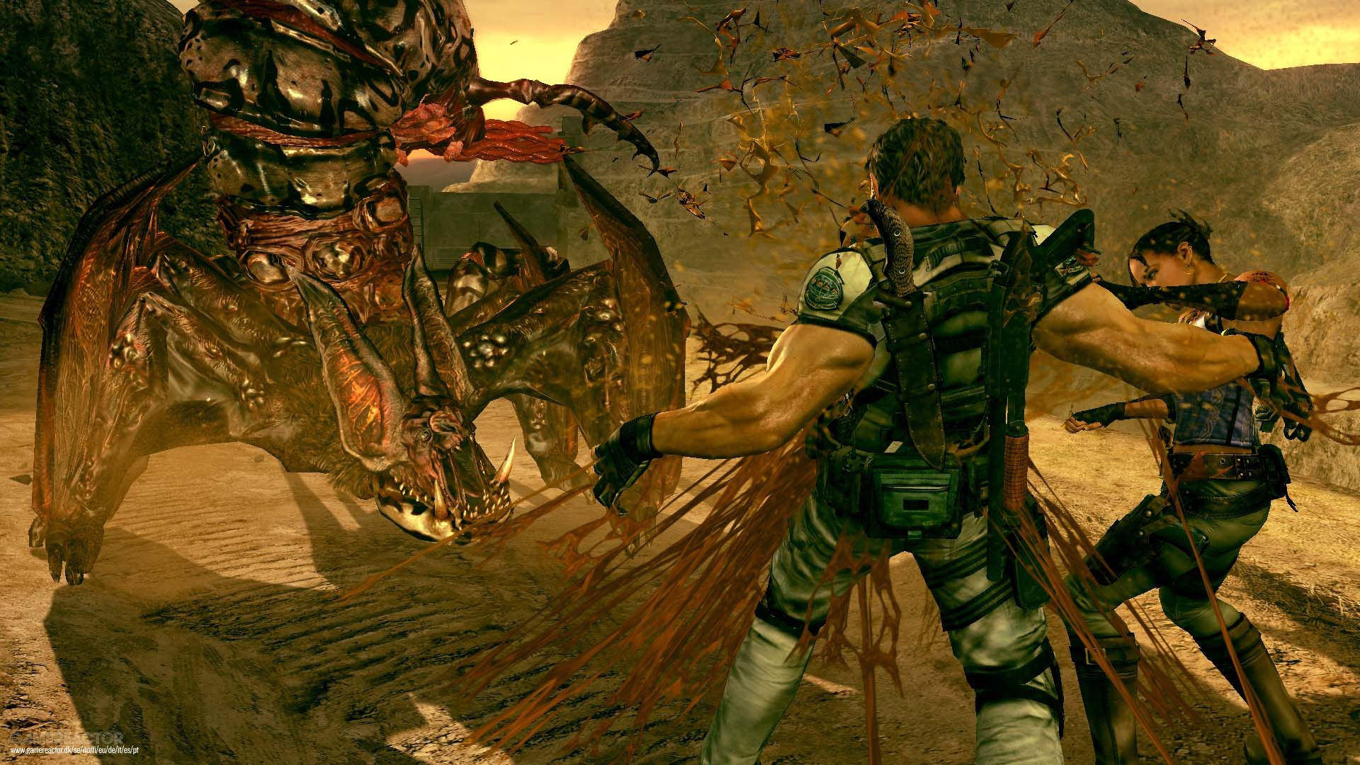 Resident Evil 5 On Switch Review Gamereactor
