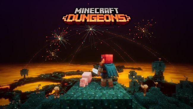 Minecraft Dungeons atinge 10 milhões de jogadores